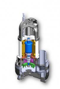 汚水 汚物用水中ポンプ Aシリーズ 3D