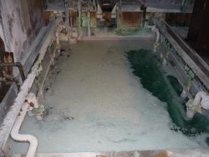 S社耐熱水中ポンプ現場1